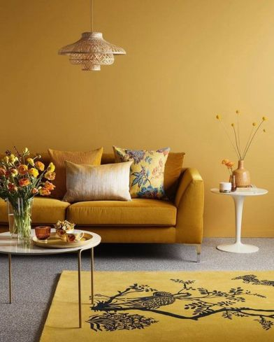 A Color Story | Mustard Yellow in Interior Design — THE NORDROOM