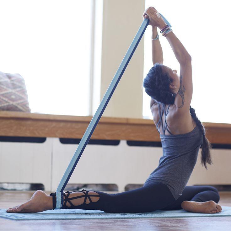 Tri-Color Yoga Strap - 6ft