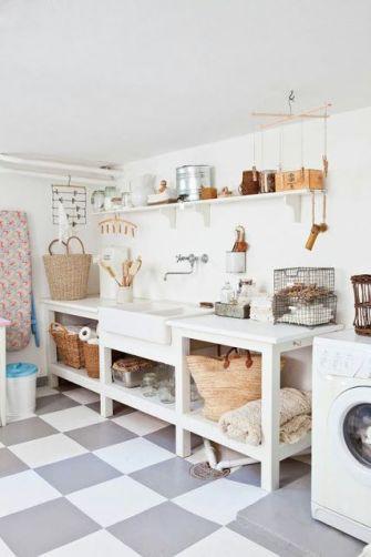 Un nuovo look per la lavanderia | Dettagli Home Decor