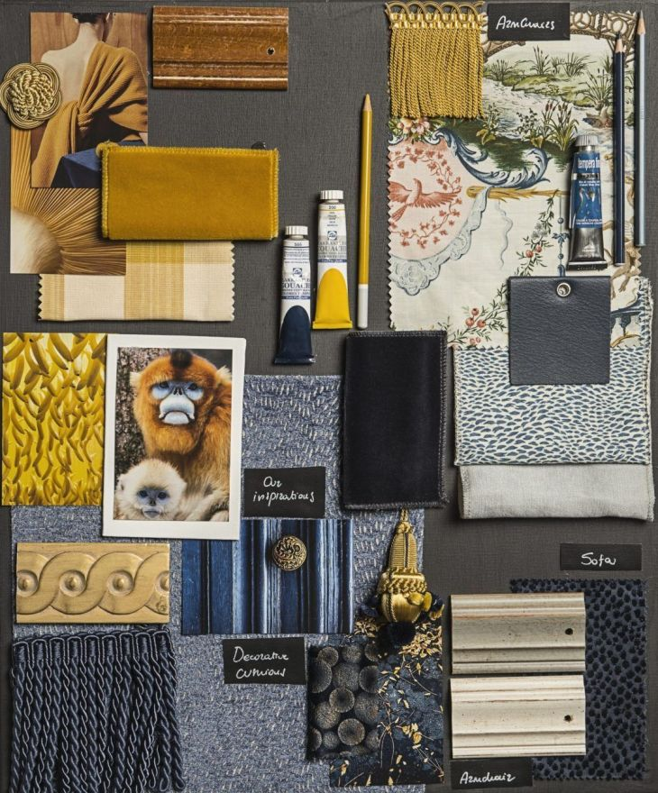 Top 9 Luxury Interior Design Moodboards